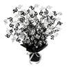 50 Gleam 'N Burst Centerpiece, black by Beistle - Over-The-Hill Theme Decorations