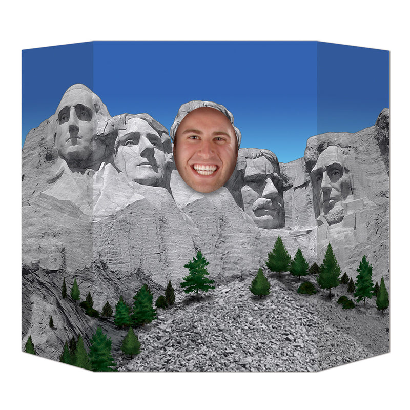 Presidential Mountain Photo Prop by Beistle - School Awards and Supplies Decorations