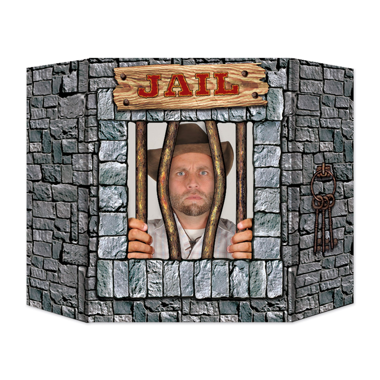 Jail Photo Prop by Beistle - Western Theme Decorations