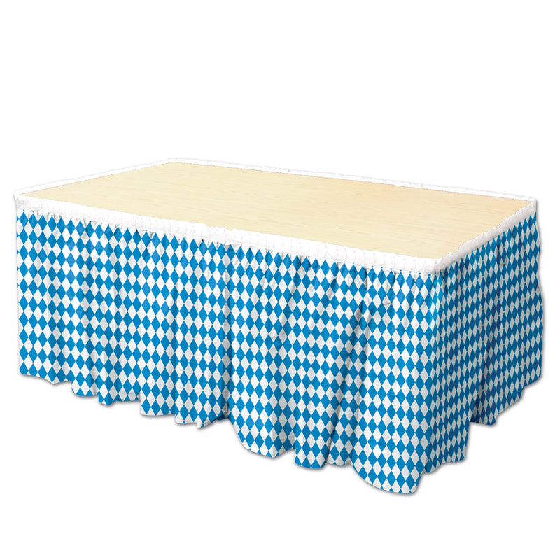 Oktoberfest Table Skirting by Beistle - Oktoberfest Theme Decorations