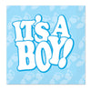 It's A Boy! Beverage Napkins (16/Pkg) by Beistle - Baby Shower Theme Decorations