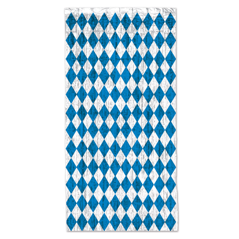 Oktoberfest 1-Ply Gleam 'N Curtain by Beistle - Oktoberfest Theme Decorations