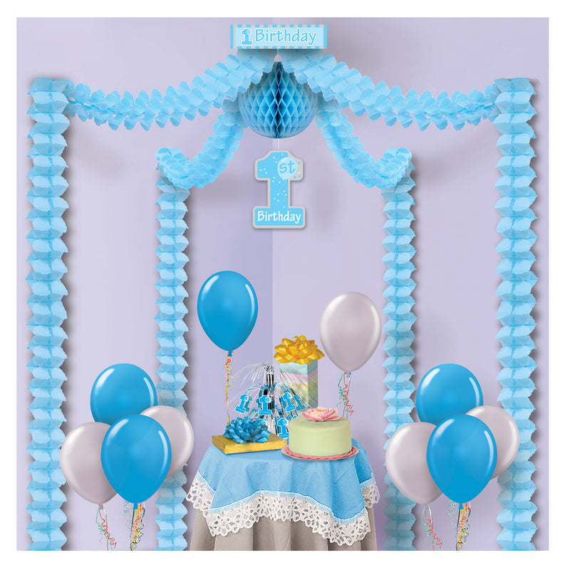 1st Birthday Party Canopy by Beistle - 1st Birthday Party Decorations