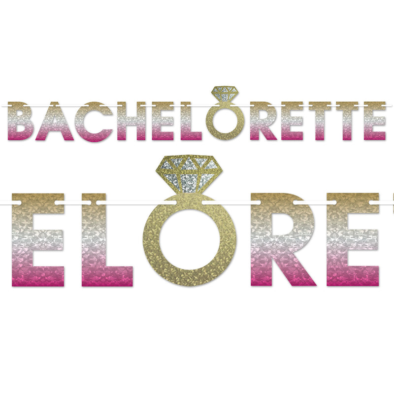 Bachelorette Streamer by Beistle - Bachelorette Theme Decorations