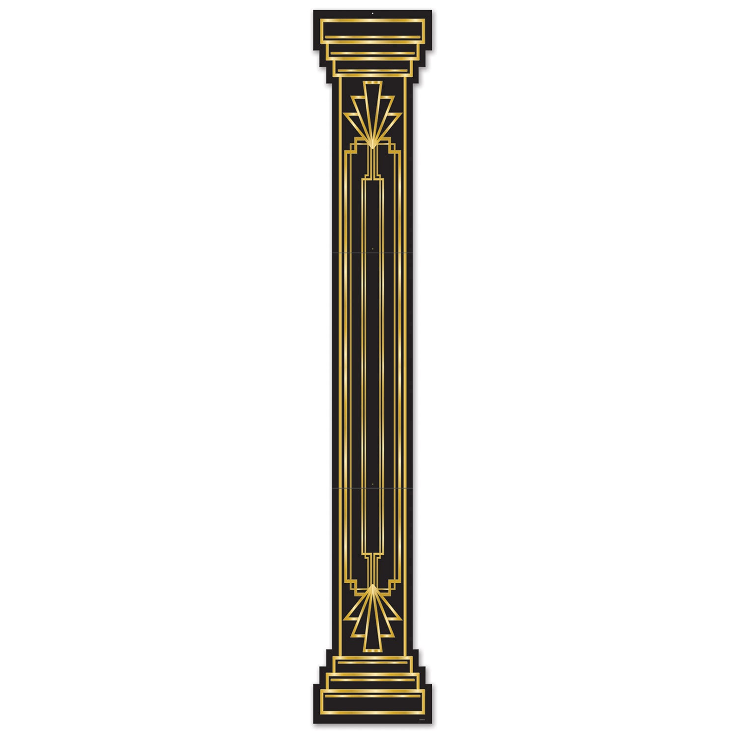 Jtd Great 20's Column Pull-Down Cutout by Beistle - 20's Theme Decorations
