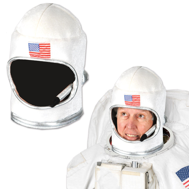 Plush Astronaut Helmet by Beistle - Space Theme Decorations