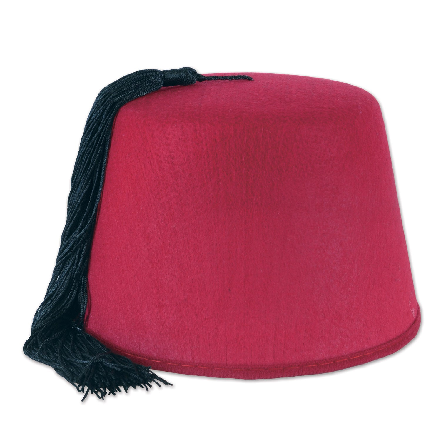 Felt Fez Hat by Beistle - International Theme Decorations