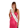 Homecoming Court Satin Sash by Beistle - School Spirit Themed Supplies Decorations
