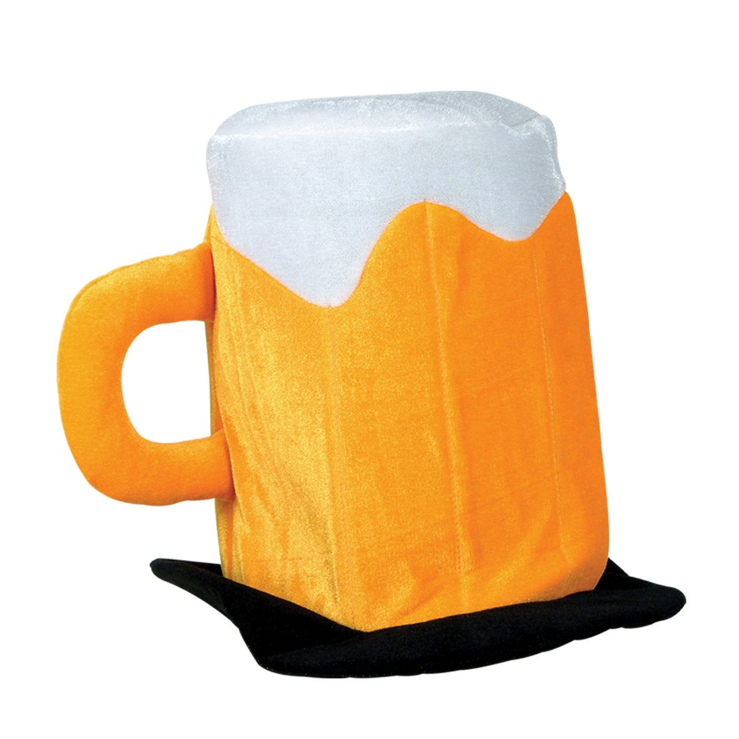 Plush Beer Mug Hat by Beistle - Oktoberfest Theme Decorations