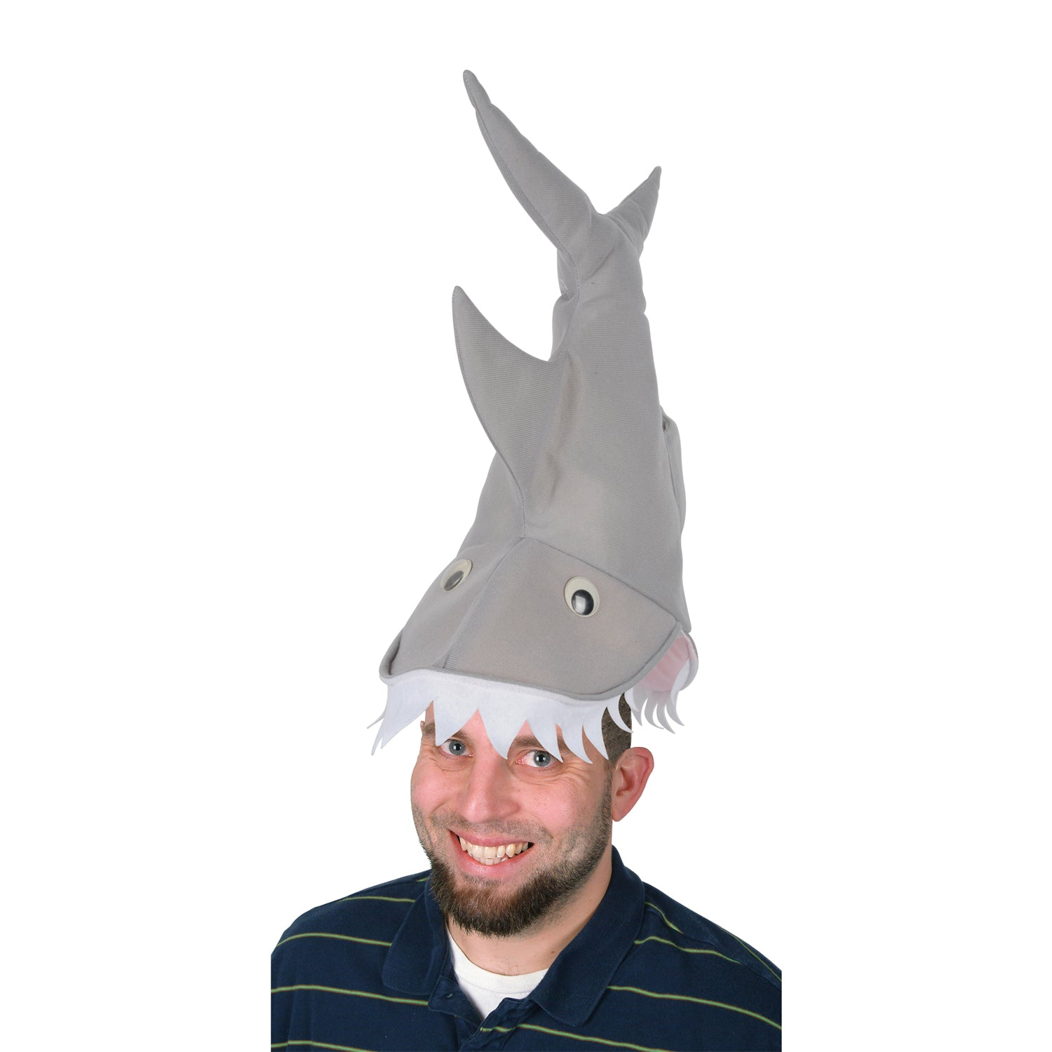 Plush Shark Hat by Beistle - Under The Sea Theme Decorations