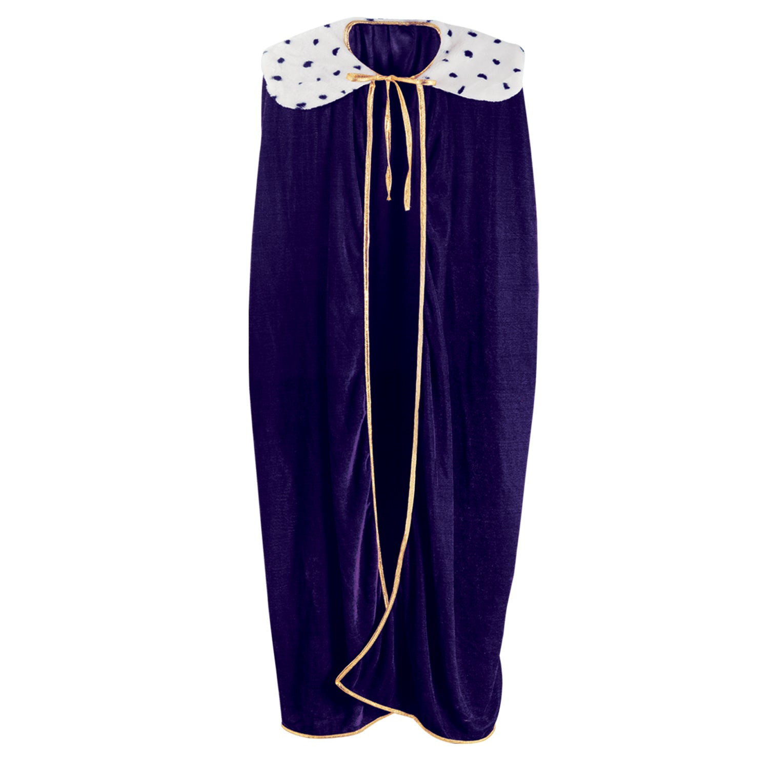 Adult King/Queen Robe, purple by Beistle - Mardi Gras Theme Decorations
