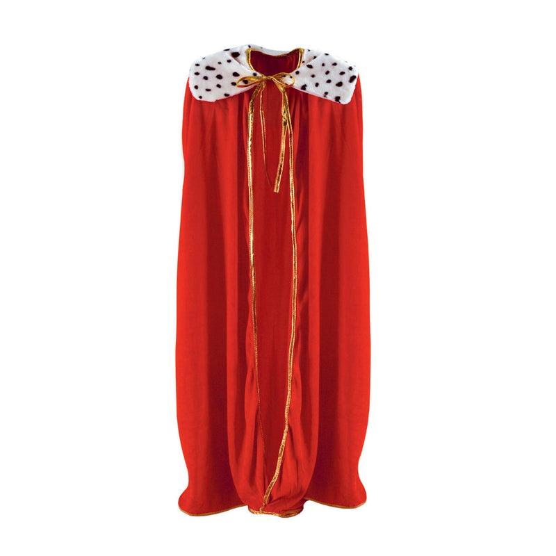Adult King/Queen Robe, red by Beistle - Mardi Gras Theme Decorations