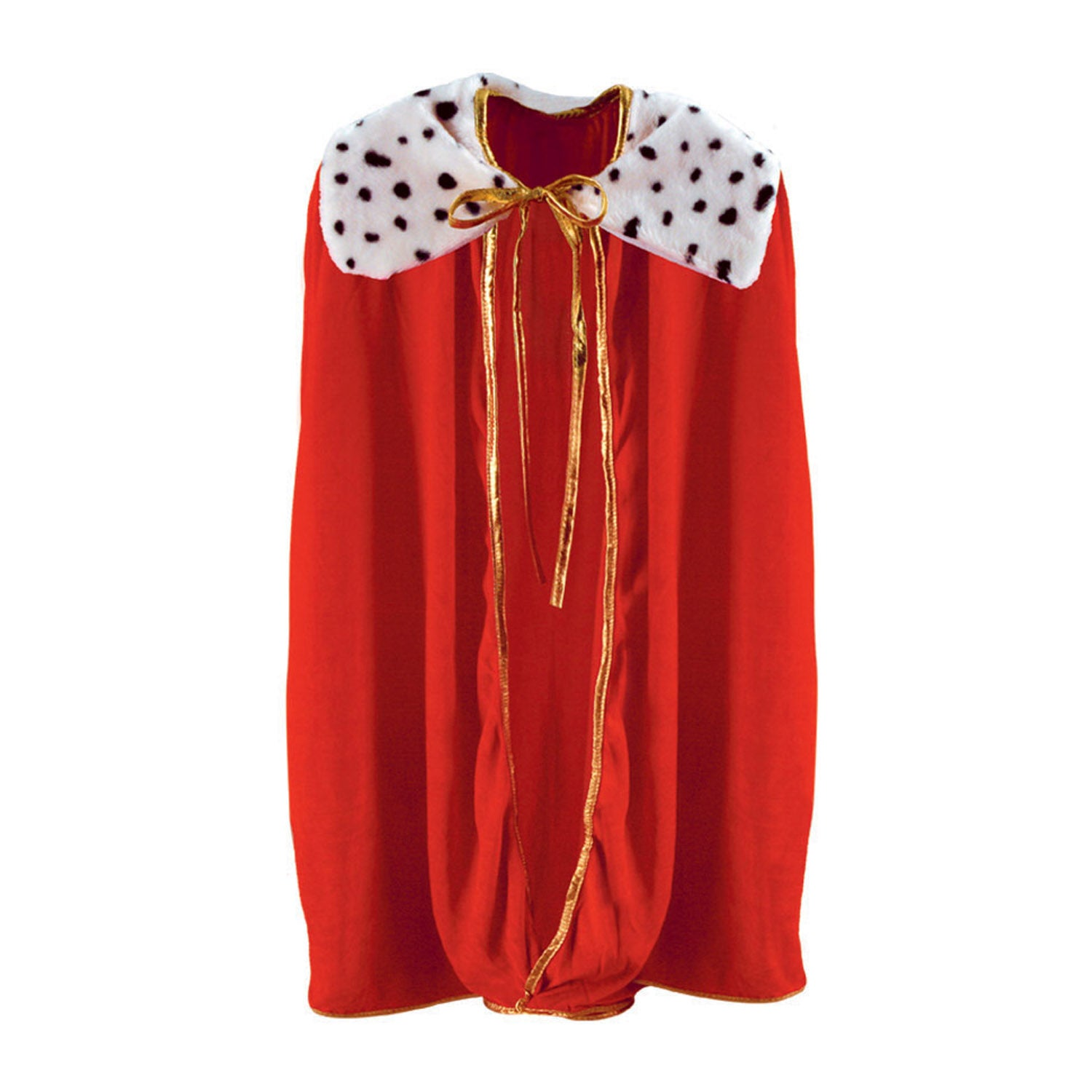 Child King/Queen Robe, red by Beistle - Mardi Gras Theme Decorations