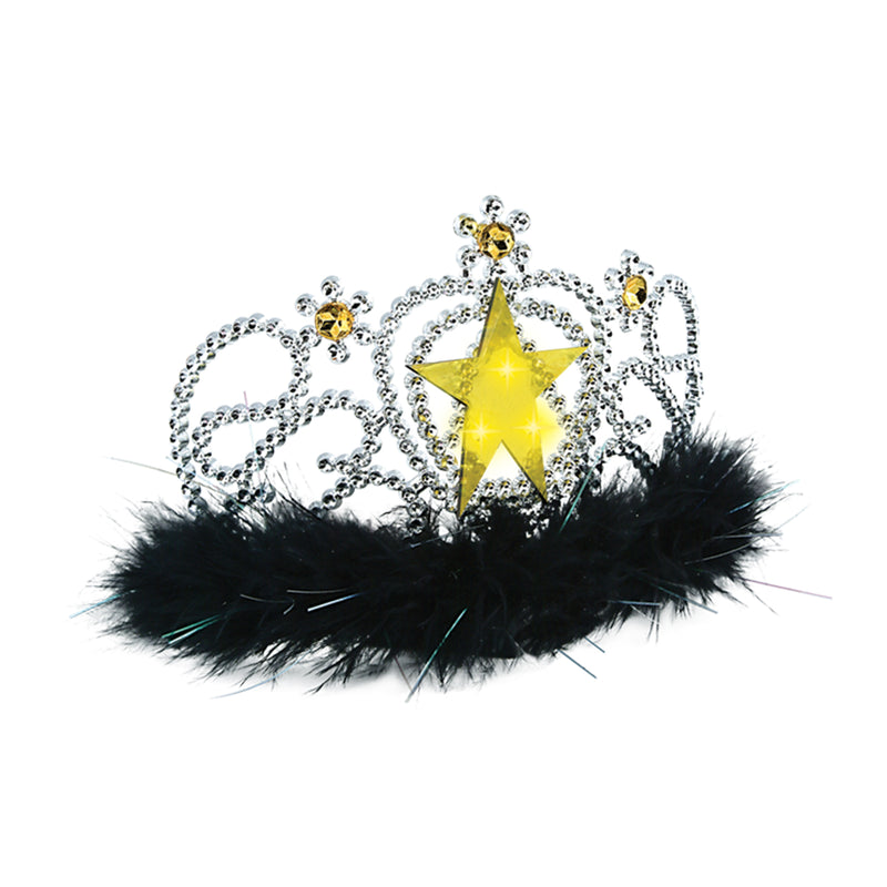Plastic Light-Up Star Tiara by Beistle - Awards Night Theme Decorations