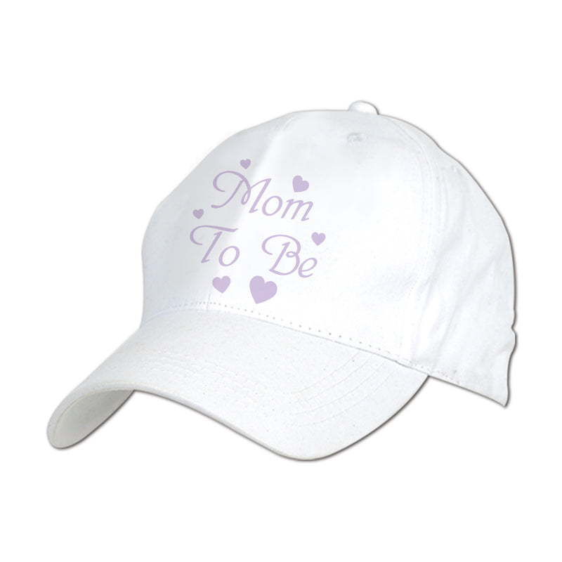 Embroidered Mom To Be Cap by Beistle - Baby Shower Theme Decorations