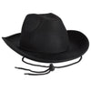 Black Felt Cowboy Hat by Beistle - Western Theme Decorations