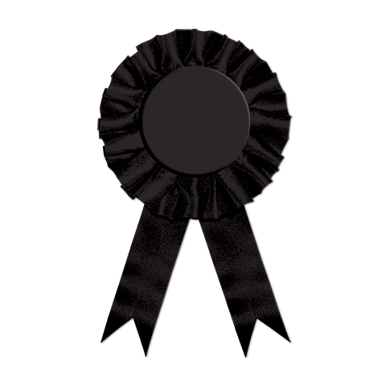 Award Ribbon, black by Beistle - Derby Day Theme Decorations