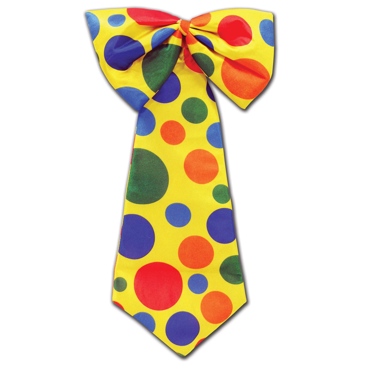 Clown Tie by Beistle - Circus Theme Decorations