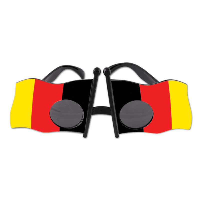 German Flag Fanci-Frames by Beistle - German Theme Decorations