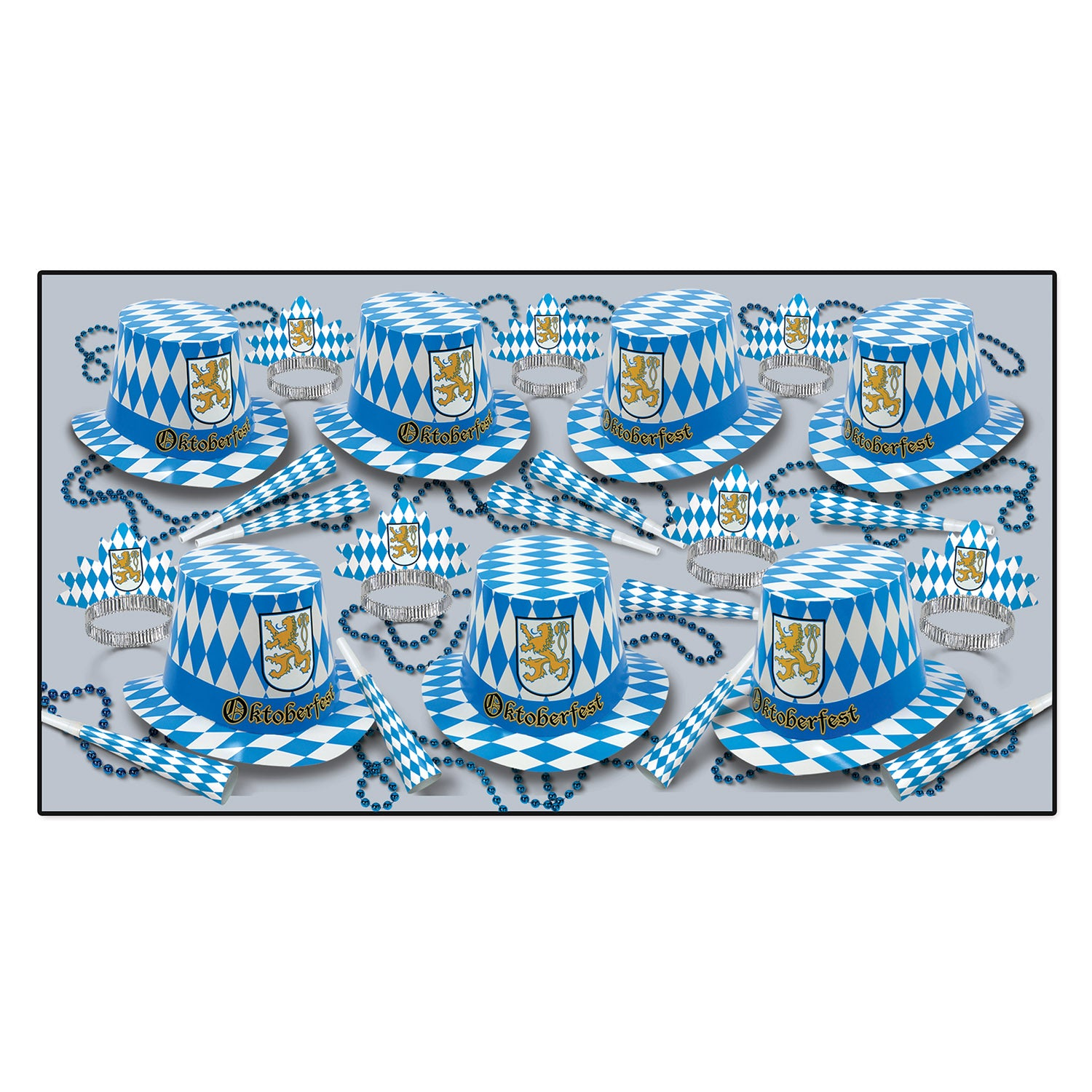 Oktoberfest Assortment for 50 people by Beistle - Oktoberfest Theme Decorations