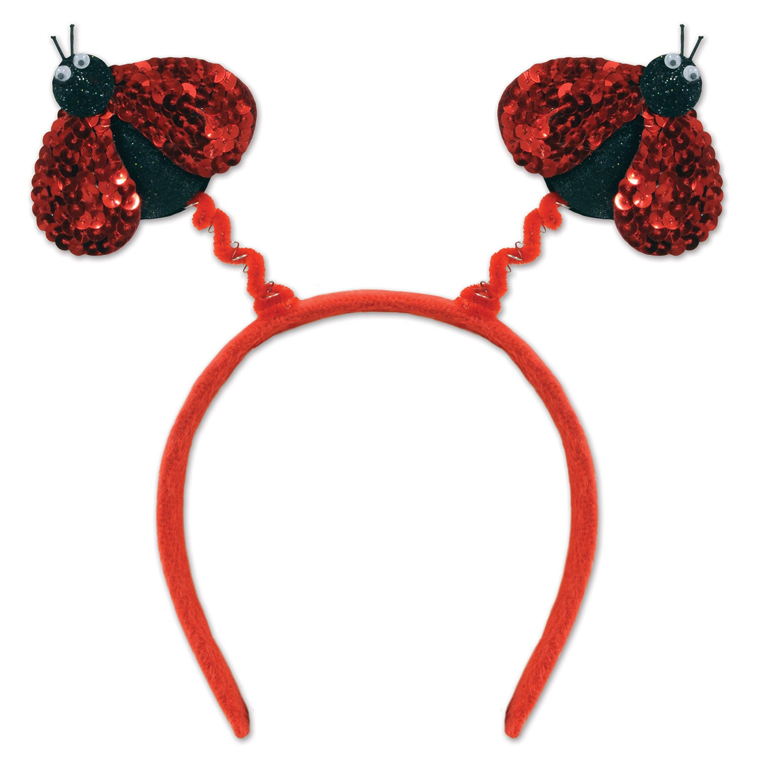 Sequined Ladybug Boppers by Beistle - Spring/Summer Theme Decorations