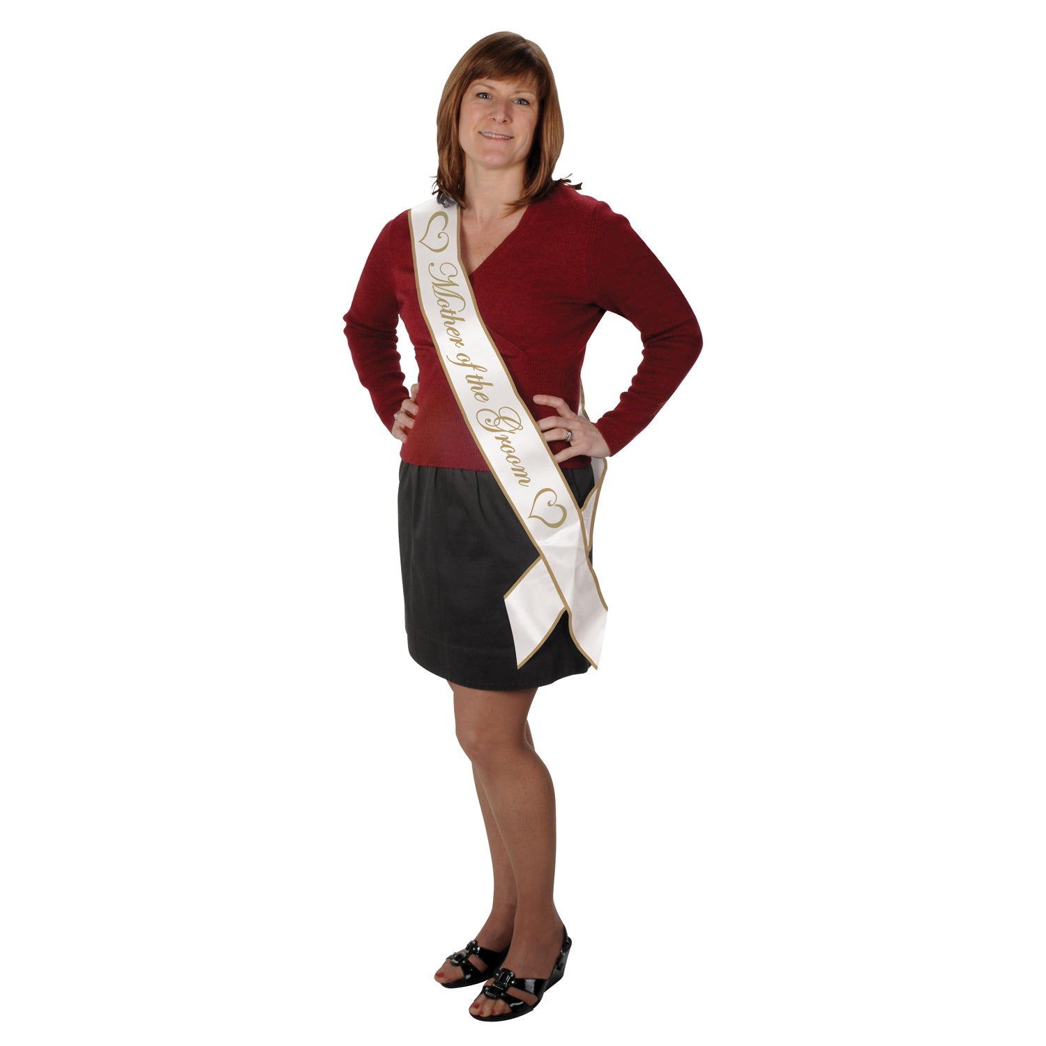 Mother Of The Groom Satin Sash by Beistle - Wedding Theme Decorations