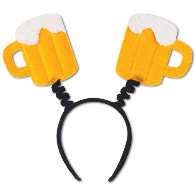 Beer Mug Boppers by Beistle - Oktoberfest Theme Decorations