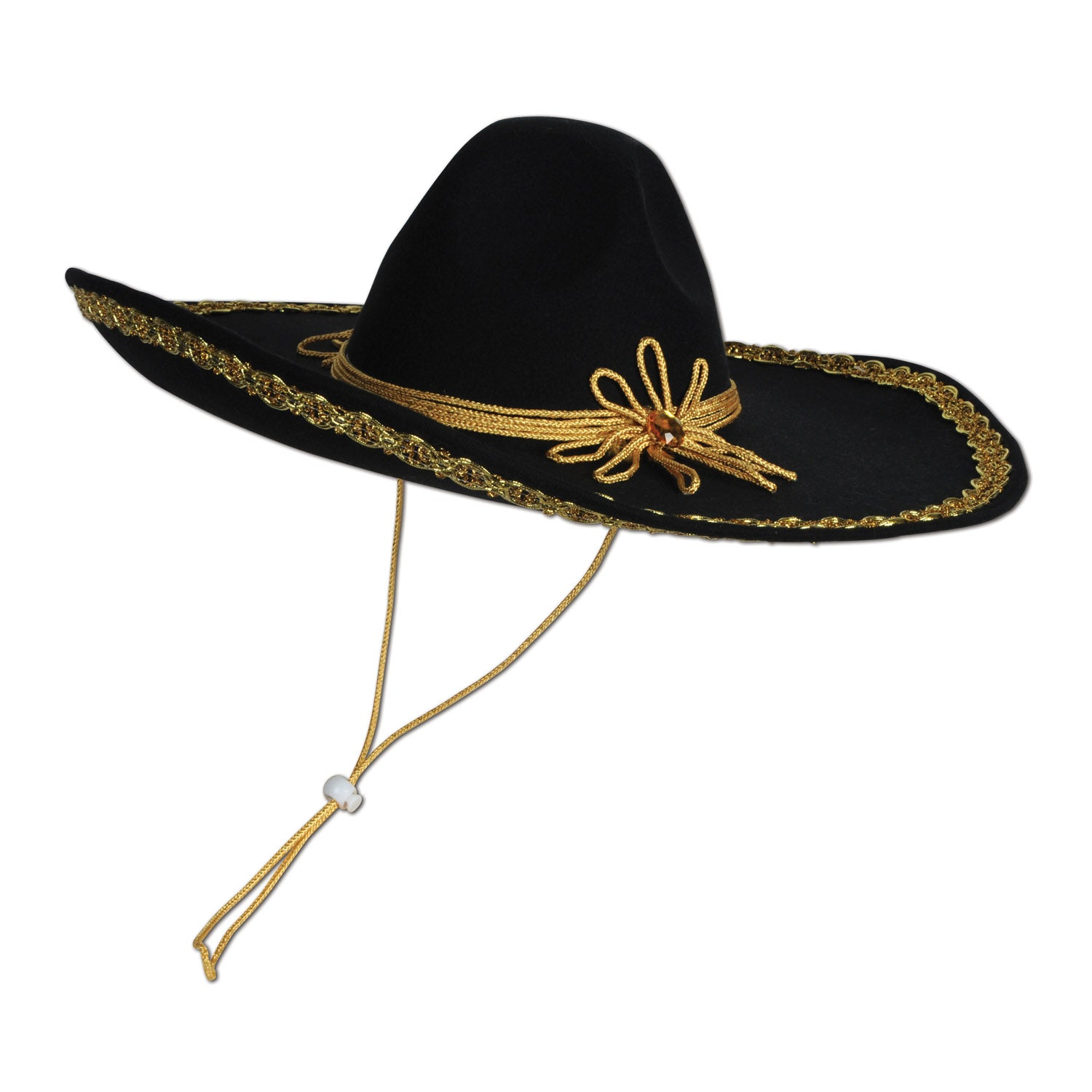 Felt Sombrero by Beistle - Cinco de Mayo and Fiesta Party Supplies Decorations