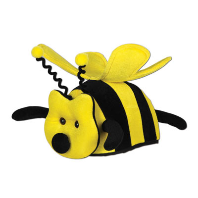 Plush Bee Hat by Beistle - Spring/Summer Theme Decorations