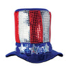 Glitz 'N Gleam Uncle Sam Top Hat by Beistle - Patriotic Theme Decorations