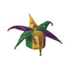 Glitz 'N Gleam Jester Hat by Beistle - Mardi Gras Theme Decorations