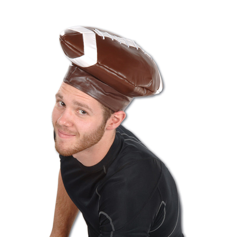 Vinyl Football Hat by Beistle - Football Theme Decorations