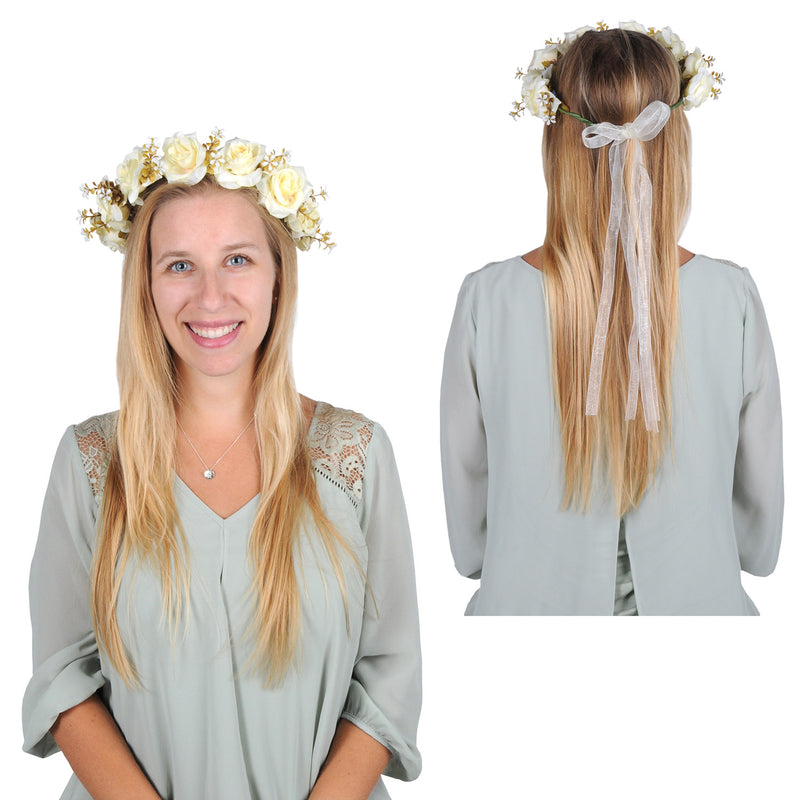 Floral Crown by Beistle - Medieval Theme Decorations