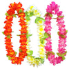 Sunset Floral Leis (3/Card) by Beistle - Luau Theme Decorations