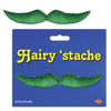 Hairy 'stache, green; self-adhesive by Beistle - General Occasion Decorations