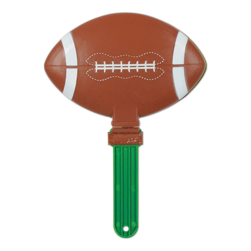 Giant Football Clapper by Beistle - Football Theme Decorations