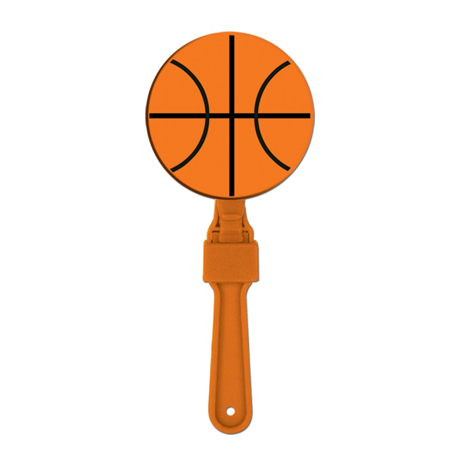 Basketball Clapper by Beistle - Basketball Theme Decorations