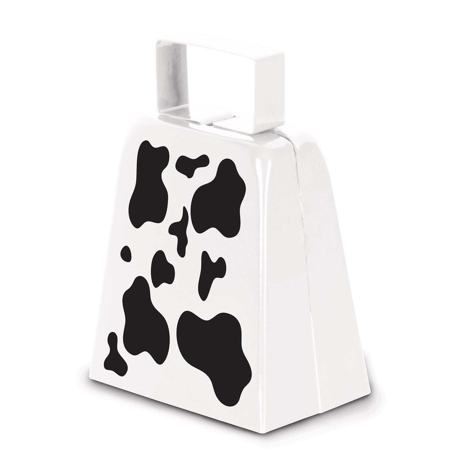 Cow Print Cowbell by Beistle - Farm Theme Decorations