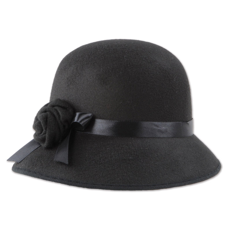 Felt Cloche Hat by Beistle - 20's Theme Decorations