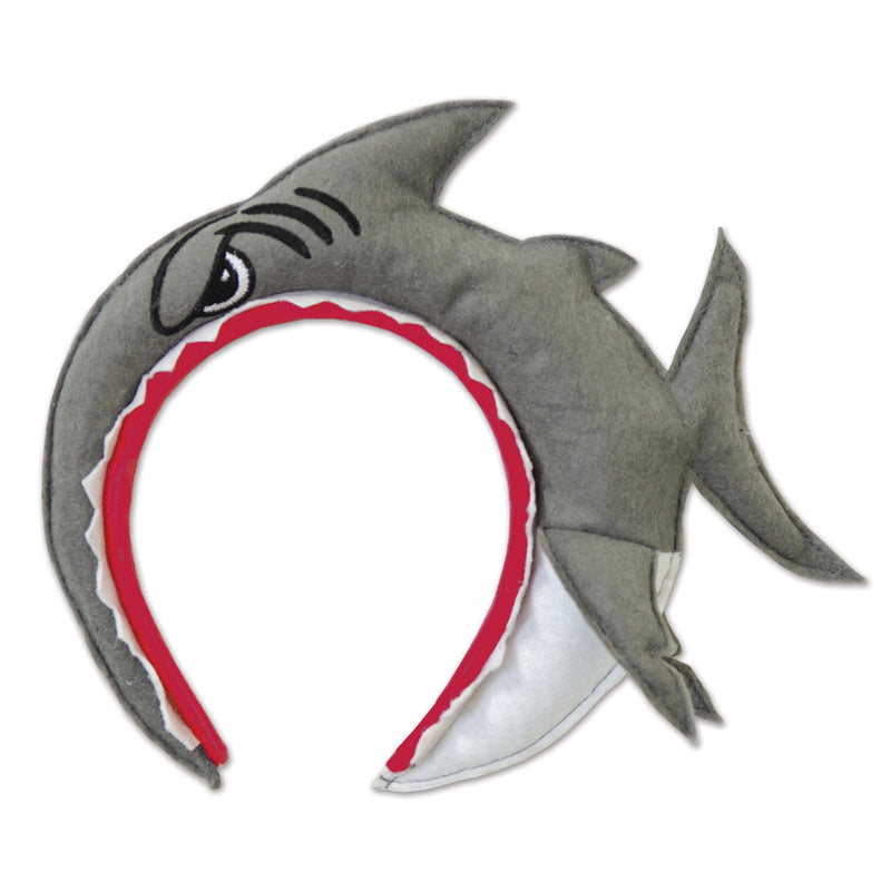 Shark Headband by Beistle - Under The Sea Theme Decorations