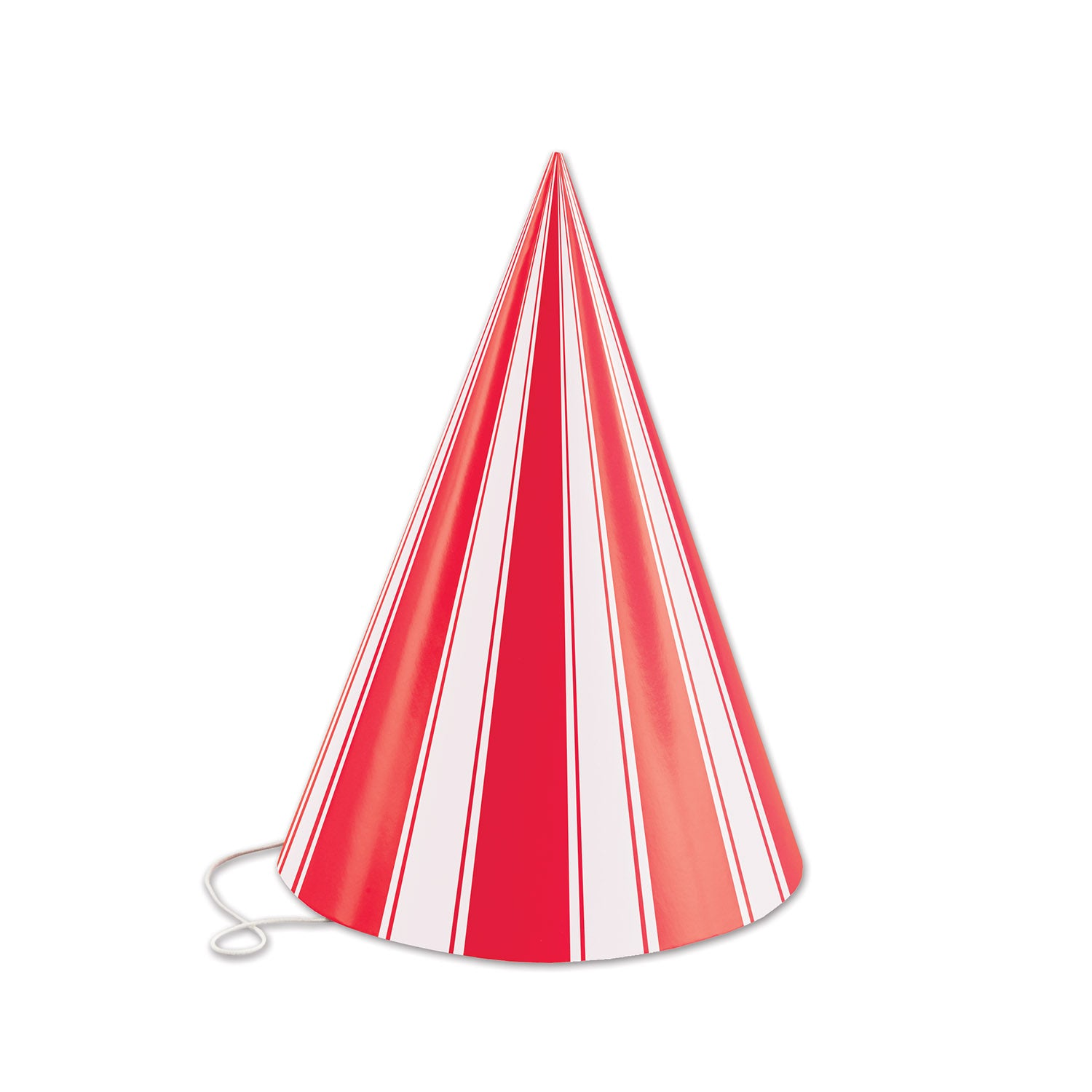 Striped Cone Hat by Beistle - Circus Theme Decorations