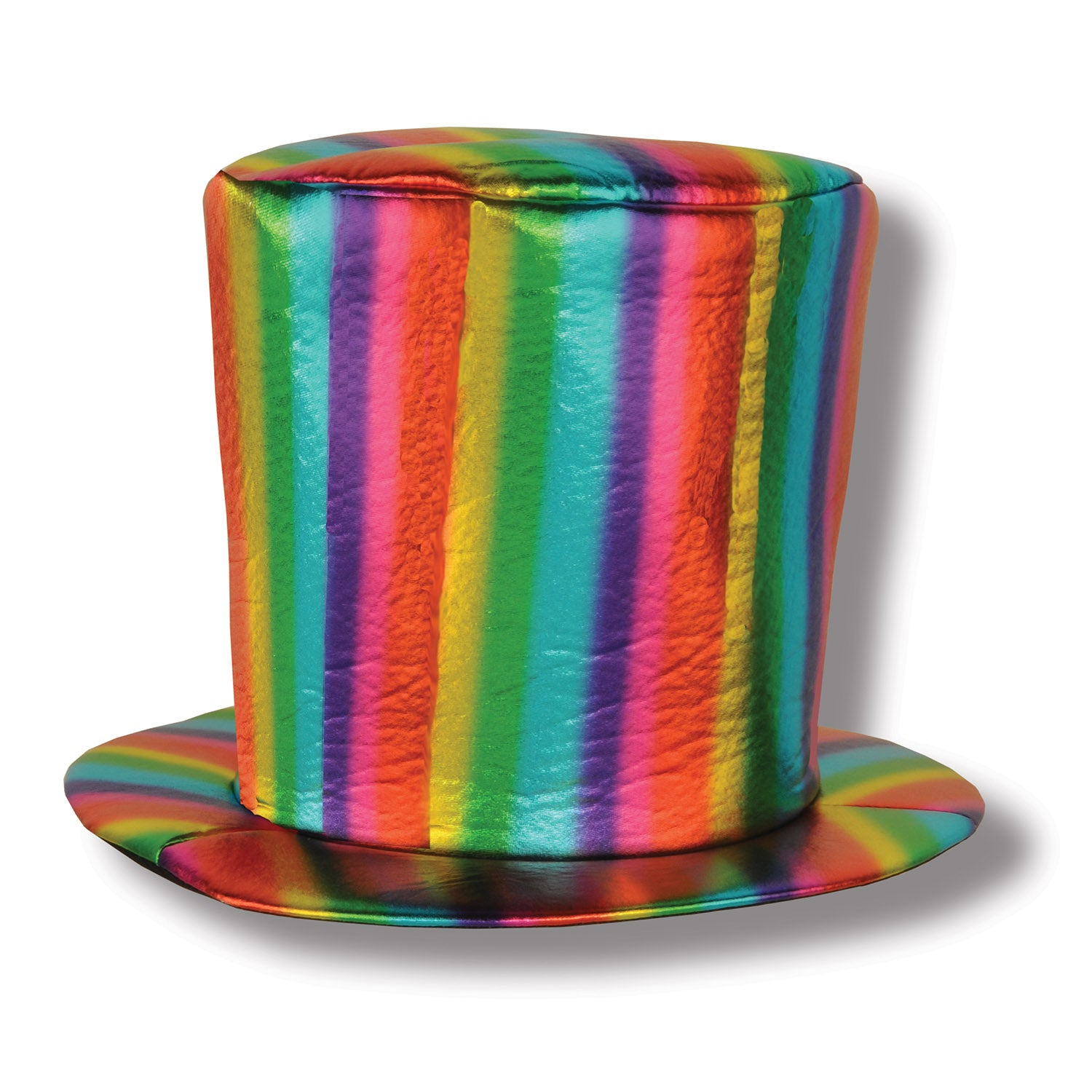 Fabric Rainbow Hat by Beistle - Rainbow Theme Decorations