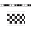 Checkered Poly Decorating Material by Beistle - Racing Theme Decorations