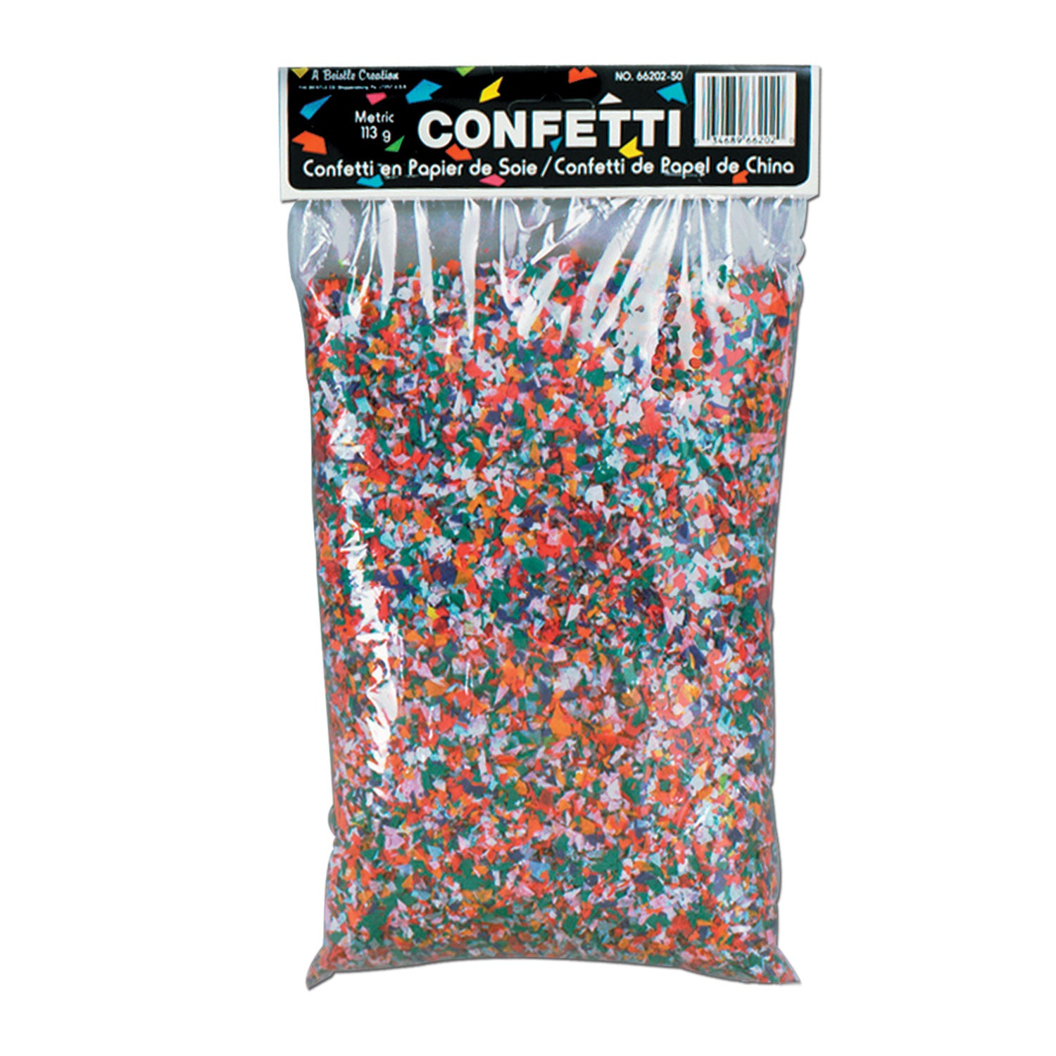 Tissue Confetti (3.75 Qt/Pkg) Multi Color by Beistle - General Occasion Decorations