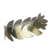 Foil Roman Laurel Wreath by Beistle - Italian Theme Decorations