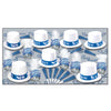Arctic Blue New Year's Eve Party Kit for 50 People by Beistle - New Year's Eve Theme Decorations