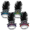 Cheers To The New Year Tiaras by Beistle - New Year's Eve Theme Decorations