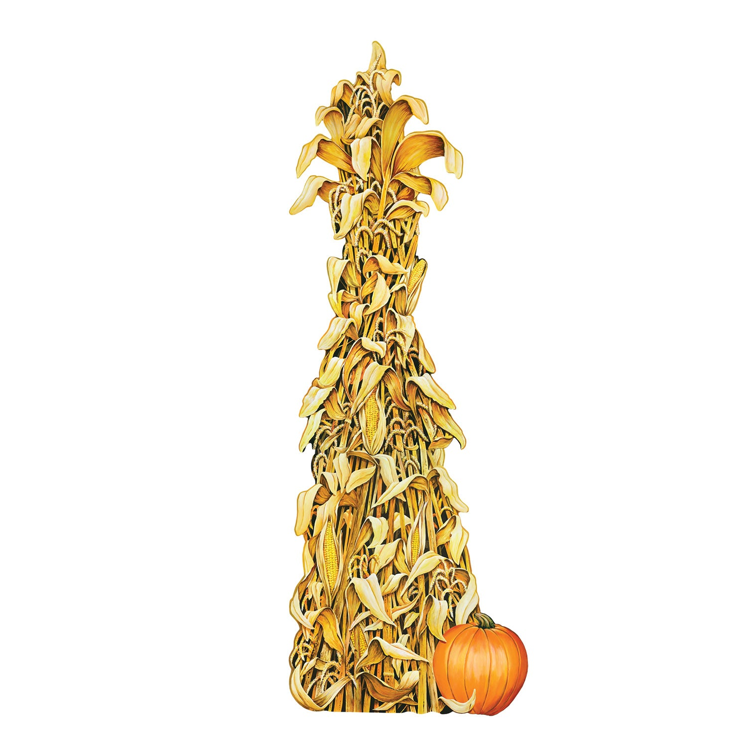 Jointed Cornshock by Beistle - Fall and Thanksgiving Theme Decorations