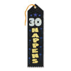 30 Happens Award Ribbon by Beistle - Over-The-Hill Theme Decorations