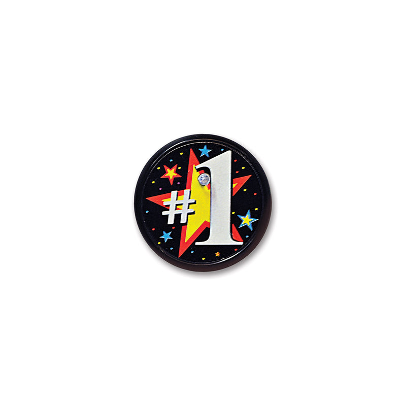 #1 Blinking Button by Beistle - Sports Theme Decorations